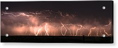 Electric Panoramic Iv Acrylic Print