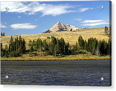 Electric Peak 1 Acrylic Print by Marty Koch