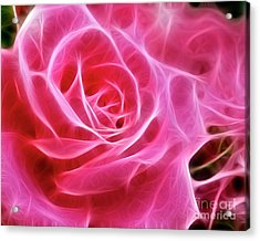 Electric Pink Acrylic Print
