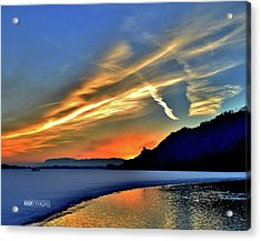 Electric Sunrise Acrylic Print