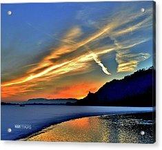 Electric Sunrise Acrylic Print