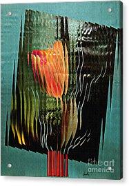 Electric Tulip 2 Acrylic Print by Sarah Loft