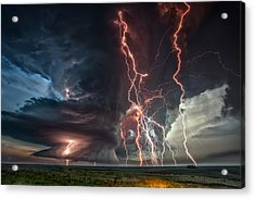 Electrical Storm Acrylic Print