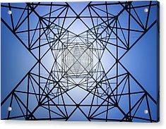 Electrical Symmetry Acrylic Print