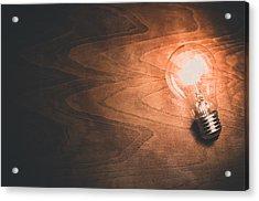 Electricity Concept Acrylic Print by Ondrej Supitar