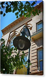 Acrylic Print featuring the photograph Electrifying  Architecture by Skip Willits