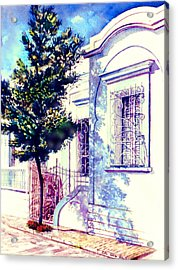 Elegance And Modesty Acrylic Print by Estela Robles