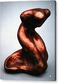Elegance Acrylic Print by Lonnie Tapia