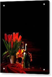 Elegance Acrylic Print by Lourry Legarde