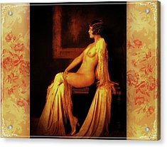 Acrylic Print featuring the photograph Elegance by Mary Morawska