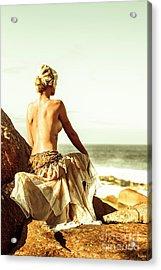 Elegant Classical Beauty  Acrylic Print