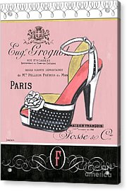 Elegant French Shoes 2 Acrylic Print by Debbie DeWitt