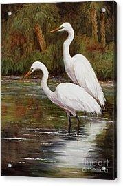 Elegant Reflections Acrylic Print