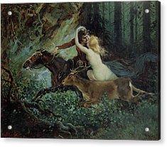 Elegy Of Bohemia Acrylic Print