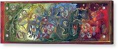 Elemental Bubbles Acrylic Print