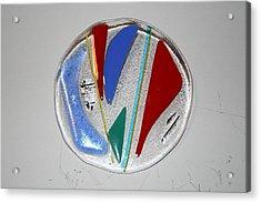 Elemental Acrylic Print by Diane Morizio