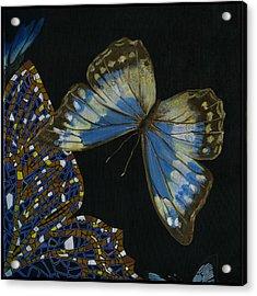 Elena Yakubovich - Butterfly 2x2 Top Right Corner Acrylic Print