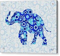 Elephant - Animal Art Acrylic Print