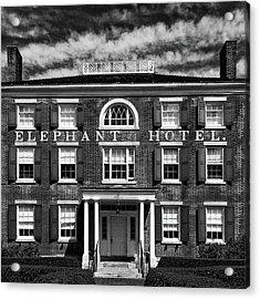 Elephant Hotel Acrylic Print