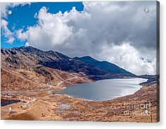 Elephant Lake Kupup Valley Sikkim India Acrylic Print by Rudra Narayan Mitra
