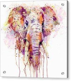 Elephant  Acrylic Print by Marian Voicu