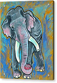 Elephant Spirit Dreams Acrylic Print