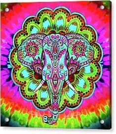 Elephant Wall Art Acrylic Print