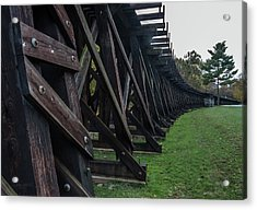 Harpers Ferry Elevated Railroad Acrylic Print