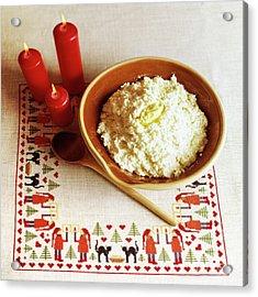 Elf Porridge Acrylic Print