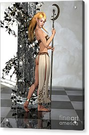 Elf Princess Acrylic Print