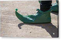 Elf Shoe Acrylic Print