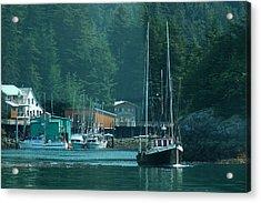 Elfin Cove Alaska Acrylic Print