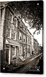 Elfreth Alley  Acrylic Print
