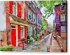 Elfreths Alley Acrylic Print