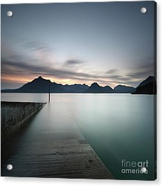 Elgol At Sunset Acrylic Print
