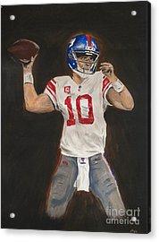 Eli Manning Acrylic Print
