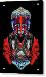 Elijah Acrylic Print by Tisha Beedle