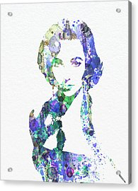 Elithabeth Taylor Acrylic Print by Naxart Studio