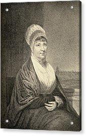 Elizabeth Fry, 1780-1845. English Acrylic Print
