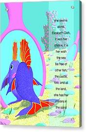 Elizabeth Gish Acrylic Print by Tom Dickson