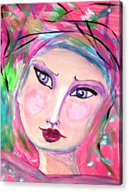 Elizabeth Acrylic Print