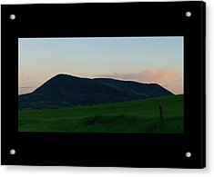 Acrylic Print featuring the photograph Elk Mountain Meadow Sunset by Daniel Hebard