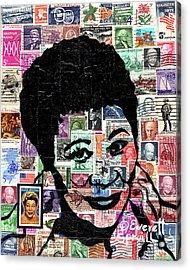 Lady Ella Fitzgerald Acrylic Print