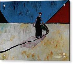 Ella Going Home 36x40 Acrylic Print by Hans Magden