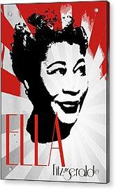 Ella Acrylic Print