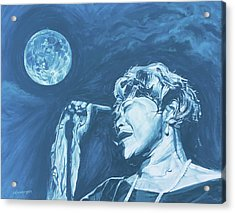 Ella Singing 'blue Moon' Acrylic Print