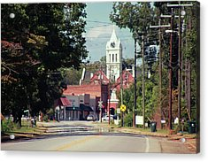 Acrylic Print featuring the photograph Ellaville, Ga - 2 by Jerry Battle
