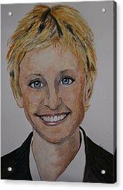 Ellen Acrylic Print by Betty-Anne McDonald
