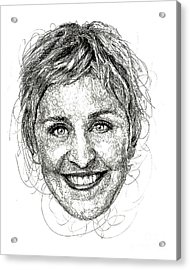 Ellen Degeneres Acrylic Print