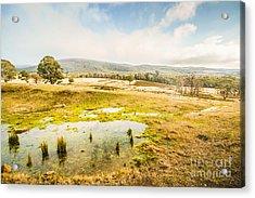 Ellendale Tasmania Background Acrylic Print